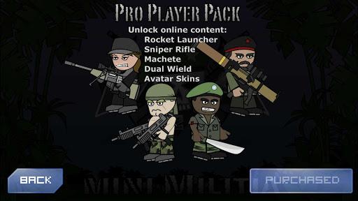 Mini militia pro pack