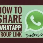 Whatsapp group link to share and join (100% working) 2018
