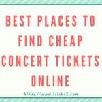 Best Places to Find Cheap Concert Tickets Online