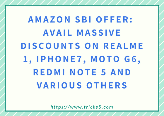 Amazon SBI Offer