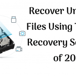 Recover Unlimited Files Using The Best Recovery Software of 2019